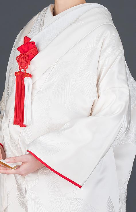 白無垢 裏紅 群鶴のブログ画像