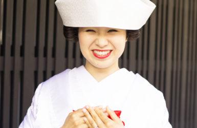 【白無垢】白無垢 裏紅 刺繍 霞雲に鶴